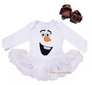 OLAF BABY GIRL HALLOWEEN COSTUME SIZE 0-3M and 12-18M for Sale in Marietta, GA