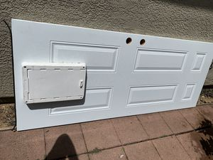 Custom doggie door door made from Home Depot paid 800 willing to sell for 200 or best offer make your offer 79 x 32 for Sale in Lincoln, CA