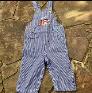 Cre8ions Boys 24M Striped Bib Overalls for Sale in Tucker, GA