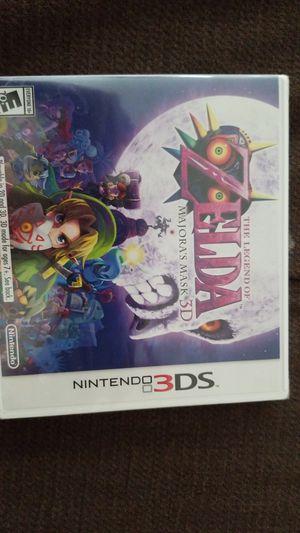 Nintendo 3DS ZELDA MAJORAS MASK 3D NEW SEALED for Sale in Lakeland Highlands, FL