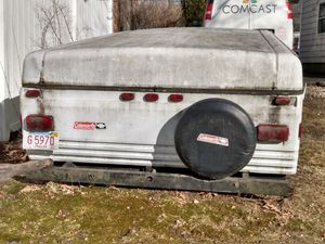 Coleman pop up trailer for Sale in Stoneham, MA
