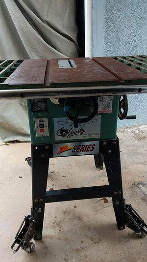 Grizzly industrial Table Saw Z Series model G1022 for Sale in Yorba Linda, CA