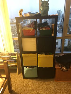 IKEA drawers decent condition normal wear and tear on the colored shelves base is pretty good for Sale in San Diego, CA