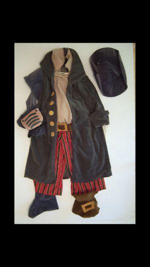 Disney Treasure Planet Kids Pirates Captain Costume for Sale in Frederick, MD