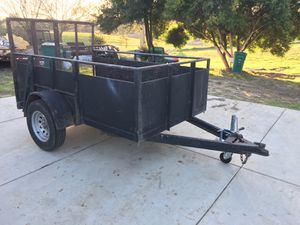 5x8 Utility trailer for Sale in Mount MADONNA, CA