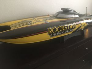 Rockstar Racing Gas Powered 48' Speed Boat for Sale in Surprise, AZ