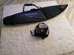 Surfboard travel/day bag Komunity by Kelly Slater 7' with matching travel/day backpack for Sale in Temecula, CA
