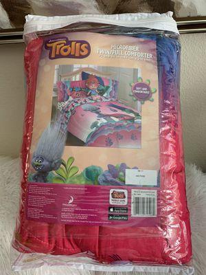 Dream work Troll Microfiber Twin/Full Comforter for Sale in El Cajon, CA