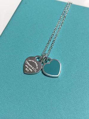 Tiffany & Co Mini Hearts Green Silver 925 for Sale in Greenwich, CT