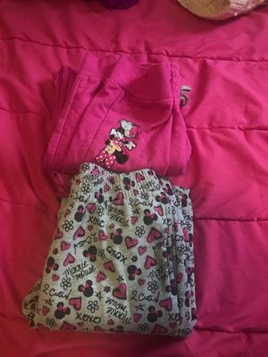 Girls mini mouse sweat pants size 10-12 for Sale in West Richland, WA