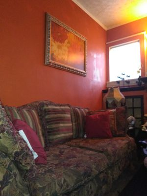 Couch and matching love seat,, 80 for both for Sale in Roanoke, VA