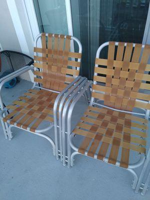 Sillas de playa y balcon...buenas condiciones for Sale in Dania Beach, FL