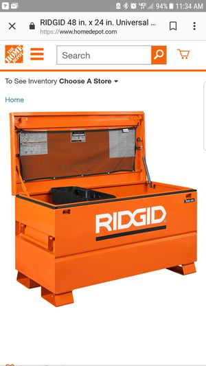 "New ridgid tool box 48"" for Sale in Corona, CA"
