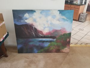 Large Hand Painting - 50 x 40 for Sale in Hampton, VA