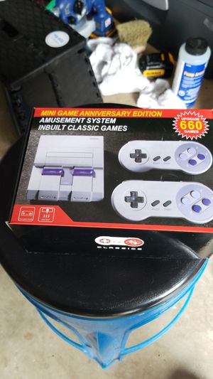 Super Nintendo Mini 660 Games built in for Sale in Germantown, MD
