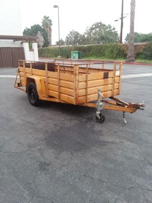 Box. Trailer. Single axle for Sale in CTY OF CMMRCE, CA