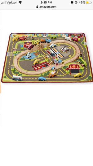 Melissa and Doug Deluxe Multi Vehicle Activity Rug for Sale in Las Vegas, NV