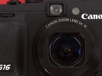 Canon Powershot G16 WiFi Digital Camera for Sale in Union City,  CA