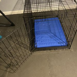 Large Dog Crate With Tray & Pad Like New for Sale in Easton, MA
