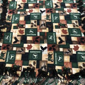 Fleece Blanket John Deere for Sale in Lockport, IL