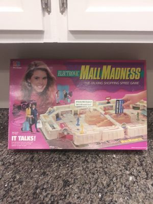 1989 Electronic Mall Madness board Game for Sale in Montgomery Village, MD