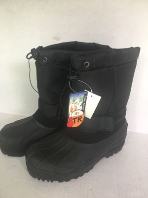 Men's Snowshoes waterproof snow boots or great for rain. Size 7 brand new never used for Sale in Orange, CA