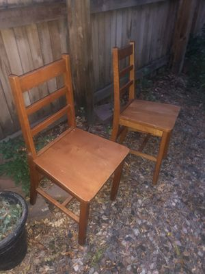 STOLEN by YOLI = Thief= YOLI !!!YOLI Stole these 2 , Antique Chairs $10 for the pair for Sale in Littleton, CO