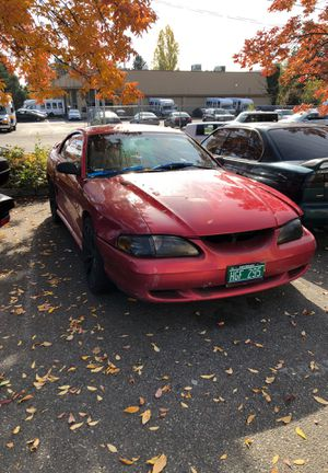 Red 1994 Ford Mustang. for Sale in Seattle, WA
