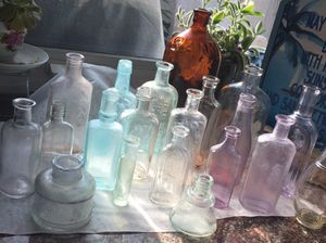 Antique bottles for Sale in Huntington Beach, CA