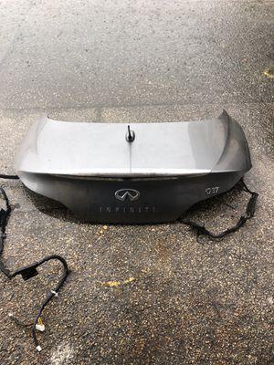 Infiniti G 37 coupe Trunk for Sale in Opa-locka, FL
