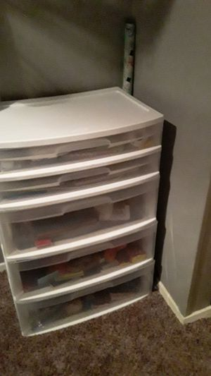 Sterilite plastic drawers for Sale in Arlington, TX