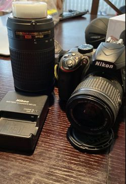 Nikon D3400 with two lenses for Sale in Brentwood,  CA