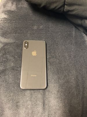 I phone X 64 gb space grey factory unlocked for Sale in Delaware, OH