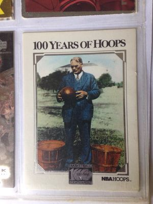 Basketball Card: The Man Who Created Basketball - James Naismith for Sale in Boston, MA