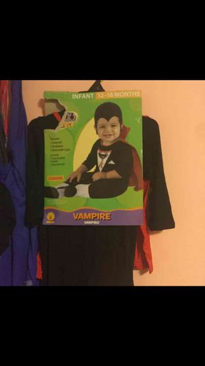Baby 12/18 months vampire costume for Sale in Detroit, MI