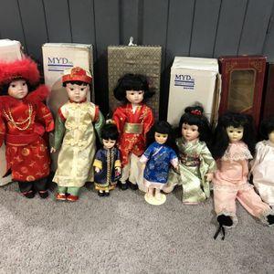 Oriental porcelain dolls for Sale in Brunswick, OH