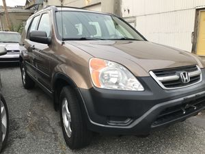 2002 Honda CRV AWD 80,000 Miles for Sale in Framingham, MA