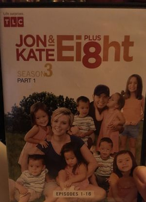 Jon & Kate plus Eight DVD's for Sale in Fond du Lac, WI