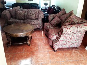 SOFAS AND COFFEE TABLE for Sale in Phoenix, AZ