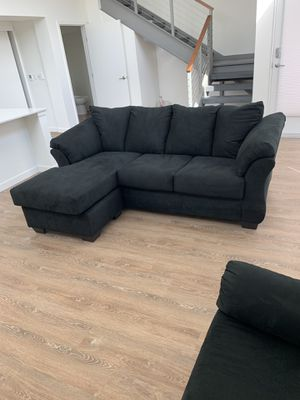 Ashley sofa chaise + chair for Sale in Issaquah, WA