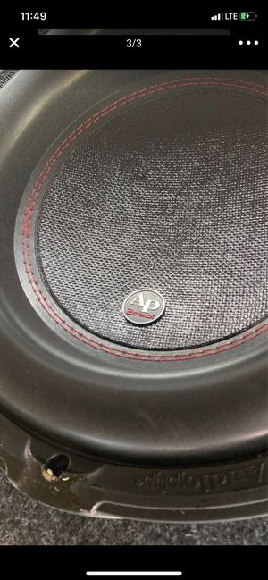 12 in ported box audio pipe for Sale in Riverdale, GA