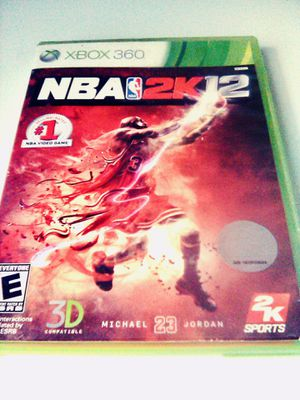 NBA 2k12 (Xbox 360) for Sale in Raleigh, NC