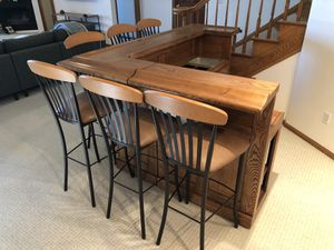 Bar and stools for Sale in Golden, CO