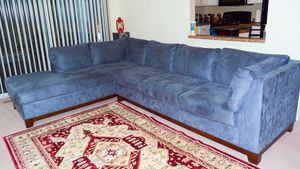 Left-handed sectional/sofa - in good condition for Sale in Strongsville, OH