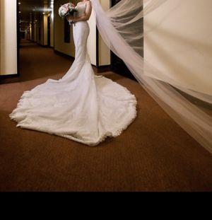 Wedding dress/Vestido de novia. for Sale in Miami, FL