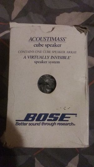 Brand new bose speakers for Sale in Warren, MI
