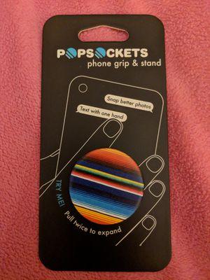 POPSOCKETS Serape BK/BK Striped Phone Grip & Stand for Sale in Manassas, VA