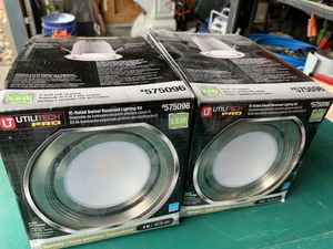 New recessed lighting kit (2) for Sale in Colorado Springs, CO
