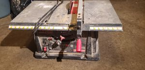 table saw craftsman for Sale in Hoffman Estates, IL