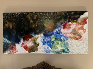 Abstract pouring painting for Sale in Clarksville, TN